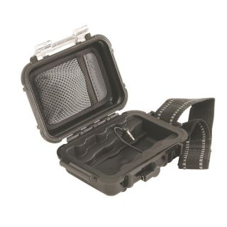 Pelican i1010Black Case, 5.43 x 4.06 x 2.12 Ipod Case Black