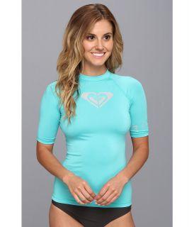 Roxy Whole Hearted S/S Surf Shirt Womens Swimwear (Blue)