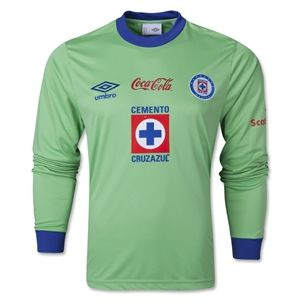 Umbro Cruz Azul 13/14 LS Goalkeeper Jersey
