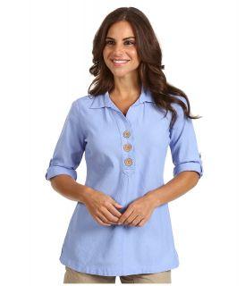 Royal Robbins Cool Mesh Tunic Womens Blouse (Blue)
