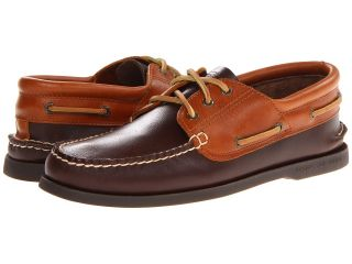 Sperry Top Sider A/O 3 Eye Padded Collar Mens Lace up casual Shoes (Brown)