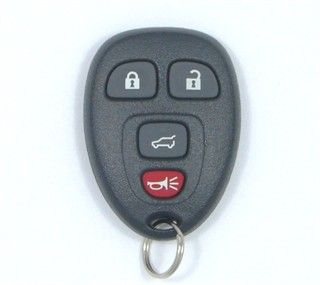 2009 Buick Enclave Remote Rear Glass   Used
