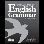 Fundamentals of English Grammar Without Answer Key   With CD and Card