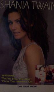 Shania Twain (Original Album Promo Poster)