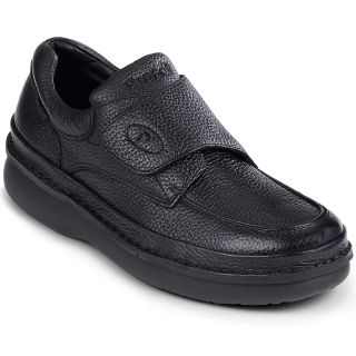 Propet Scandia Walker Mens Leather Shoes, Black