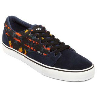 Vans Kress Mens Skate Shoes, Native Teal/blk
