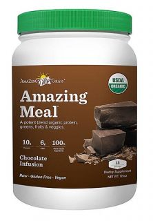 Amazing Grass Chocolate Amazing Meal   15 servings