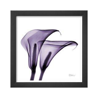 ART Violet Calla Twins II Framed Print Wall Art