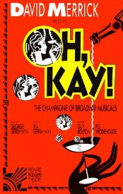 Oh Kay (Original Broadway Theatre Window Card)