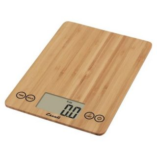 Escali Arti Digital Scale   Brown