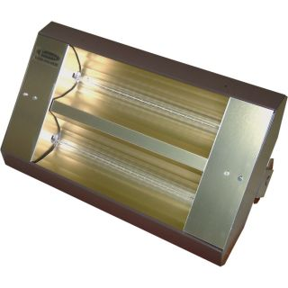 TPI Indoor/Outdoor Quartz Infrared Heater   17,065 BTU, 480 Volts, Galvanized