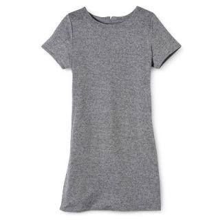 Merona Womens Knit T Shirt Dress   Heather Grey   XL