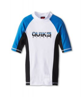 Quiksilver Kids Extra S/S Surf Shirt Boys Swimwear (White)