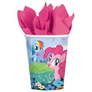 My Little Pony Friendship Magic 9 oz. Paper Cups