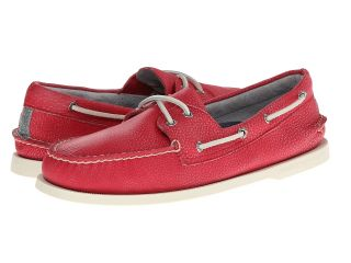 Sperry Top Sider A/O 2 Eye Washed Mens Lace Up Moc Toe Shoes (Coral)