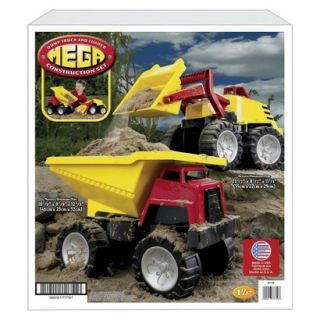 American Plastic Toys Mega Construction Set 2 Vehicles