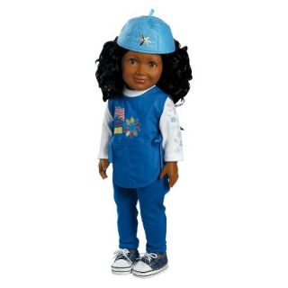 Adora Play Doll Kayla   Girl Scout Daisy 18 Doll & Costume