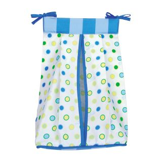Trend Lab Dr. Seuss Oh, the Places Youll Go Diaper Stacker, Blue, Boys