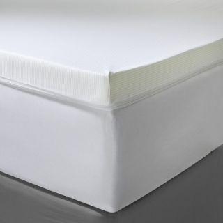 Fieldcrest Luxury 3 Memory Foam Mattress Topper Queen