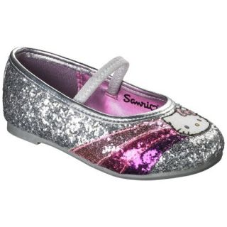 Toddler Girls Hello Kitty Ballet   Silver 13
