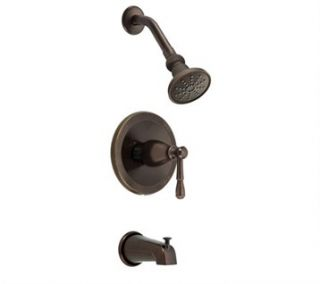 Danze Eastham Trim Only Single Handle Tub & Shower Faucet   Tumbled Bronze