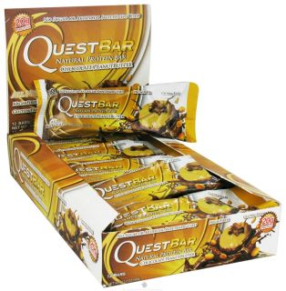 Quest Nutrition   Quest Bar Natural Protein Bar Chocolate Peanut Butter   2.12 oz.