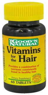 Good N Natural   Vitamins for the Hair   60 Tablets