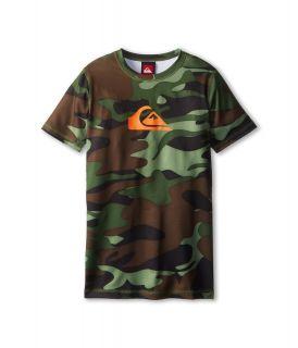 Quiksilver Kids Dust Buster Surf Shirt Boys Swimwear (Multi)