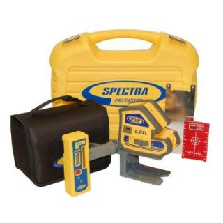 Spectra Precision Multi Purpose Self Leveling 5 Point and Cross Line Laser Level with Receiver 5.2XL 2