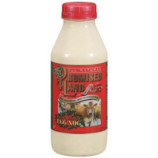 Promised Land Dairy Old Fashioned Egg Nog, 32 oz: Beverages
