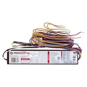 GE 4 Lamp T8 4 ft. Program Start 120 277V Electronic Ballast (Case of 10) GE432 MVPS N