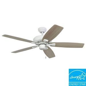 Sahara Fans Charleston 52 in. Energy Star White Ceiling Fan 10031