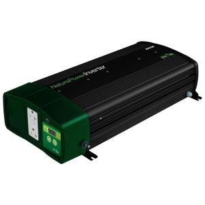 Nature Power 2000 Watt Pure Sine Wave Inverter with 55 Amp Inverter Charger 38326