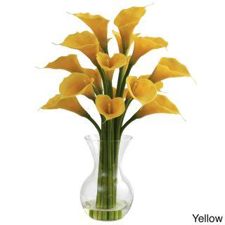 Galla Calla Lily And Vase Floral Arrangement
