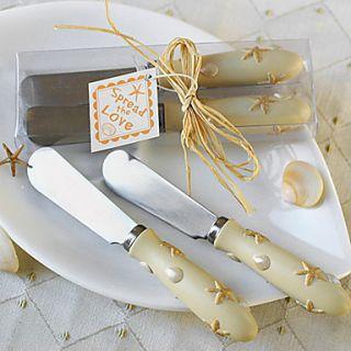 Star Butter Knife, Set of 2, W12.5cm x L4cm x H2.3cm