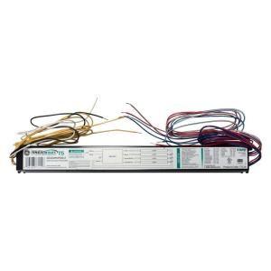 GE 4 or 3 Lamp T5 HO Programmed Start 120 277 Volt Electronic Ballast (Case of 4) GE454MVPS90 E