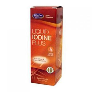 Life Flo 596254 596254 Liquid Iodine Plus   2 Fl. Oz. Vitamins