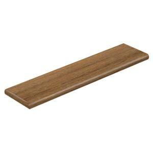 Cap A Tread Limed Oak 47 in. Length x 12 1/8 in. Depth x 1 11/16 in. Height Vinyl Left Return 016273577