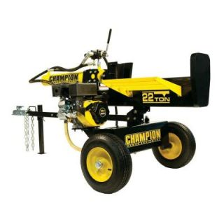Champion Power Equipment 22 Ton Hydraulic Log Splitter with Log Catcher CARB 92221