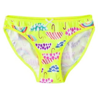 Xhilaration Girls Bikini Briefs   Yellow 14