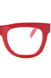 Super Sunglasses Glasses Ciccio in Clean and Red