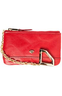 Diamond Supply Wallet Elephant Coin Pouch in Red