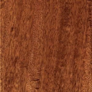 Home Legend Hand Scraped Mahogany Natural 3/4 in. Thick x 5 3/4 in. Wide x Random Length Solid Hardwood Flooring(18.87 sq.ft/cs) HL504S
