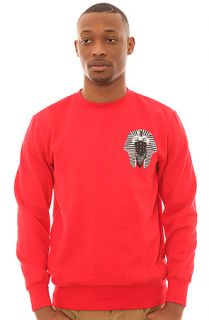 Crooks & Castles Sweatshirt Pharoah Crewneck in Red