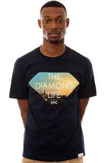 Diamond Supply Co. Diamond Life NYC Tee in Navy