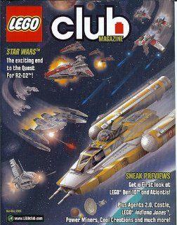 LEGO CLUB MAGAZINE NOVEMBER DECEMBER 2009 (LEGO Club Magazine): LEGO GROUP: Books
