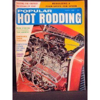 1966 66 March POPULAR HOT RODDING Magazine, Volume 5 Number # 3 (Features Performance Testing The GT 350 Mustang / Testing Yamaha's Twin Sport Cycles / Cobweb Painting / Fairlane Slingshot) Popular Hot Rodding Books
