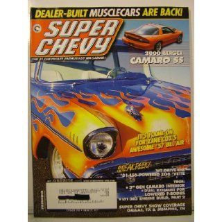 Super Chevy Magazine September 2000 History of Chevrolet pt 9, Berger Camaro SS (Volume 29 Number 9) various Books
