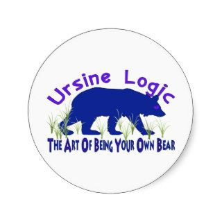 Ursine Logic Swag Logo Stickers