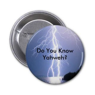 YHWH Lightning Pins